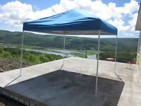 INSTANT CANOPY BLUE 12X12, EXCELLENT CONDITION, USED 1 TIME ONLY