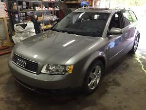 2003 Audi A4 Wagon Quattro for Sale