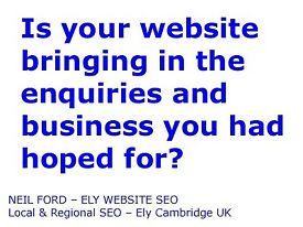 Local Business Website SEO & Promotion – Ely & Newmarket, Cambridgeshire