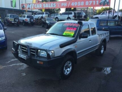 2004 Ford Courier PG XL (4x4) Silver 5 Speed Manual Super Cab P/Up