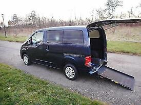 2011 Nissan NV200 SE 1.5 Dci 5 SEATS+ WHEELCHAIR ACCESSIBLE DISABLED VEHICLE WAV