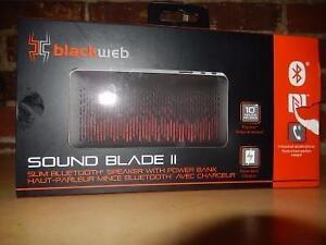 Haut Parleur Bluetooth BLACKWEB / Model SoundBlade 2 (i017066)