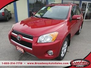 2009 Toyota RAV4 LOADED LIMITED EDITION 5 PASSENGER 2.4L - 4 CYL