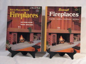 Two Fireplace Design and Building Books
