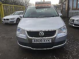 Volkswagen Touran 2.0TDI ( 140PS )( 7st ) 2008MY SE,AUTOMATIC,3 MONTHS WARRANTY