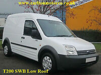 2009/ 09 Ford Transit Connect T200L Swb Low Roof van Side Loading door