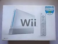 Wii Console AND 6 in 1 Sports Accessories Pack