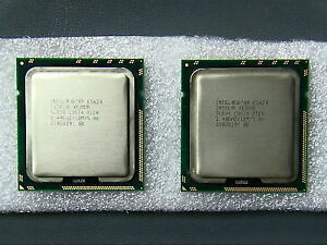 Matched pair Intel® Xeon®  E5530 8M Cache, 2.40 GHz HT