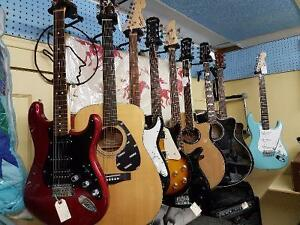 Guitar Overstock, Great Selection