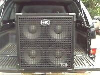 400 watt Bass Cab 4x10 GK