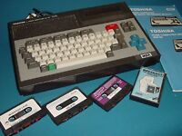 Do you have any old games consoles ? - MSX console & games wanted