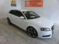 2012 Audi A3 2.0TDI ( 140ps ) Sportback Black Edition ***BUY FOR £55 PER WEEK***