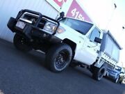 2010 Toyota Landcruiser VDJ79R MY10 Workmate White 5 Speed Manual Cab Chassis Svensson Heights Bundaberg City Preview