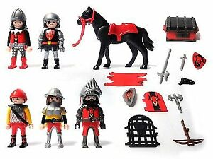 Playmobil - 3319 - Chevaliers dragon rouge