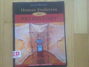 Human Evolution and Prehistory 2nd Canadian Edition Windsor Region Ontario image 1