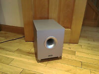Tannoy SFX Home Cinema Separate Subwoofer Speaker 100w Silver or Black