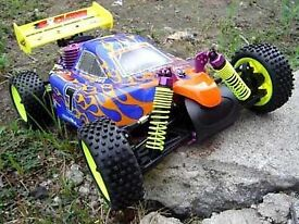 Himoto rc car just needs pull cord fixed.