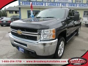 2011 Chevrolet Silverado 2500 HD 3/4 TON - DIESEL WORK READY LT
