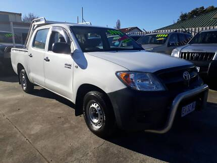 2006 Toyota Hilux Ute Dual fuel 6 seater Invermay Launceston Area Preview
