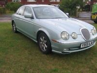 Jaguar S-Type 3.0 SE in Silver Blue - One of the best in the country - beautiful car.