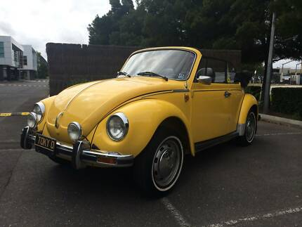 *LOOK DIRECT IMPORTED 1976 VOLKSWAGON BEETLE KARMANN CABRIOLET* Littlehampton Mount Barker Area Preview