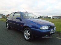 1999 Ford Fiesta ZETEC, 12 months MOT, 52k miles