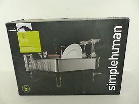 NEW Simplehuman Large dish drainer. Still in box