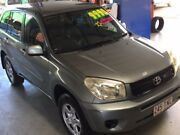 2004 Toyota RAV4 CV CV-AWD Silver 4 Speed Automatic Wagon Bungalow Cairns City Preview