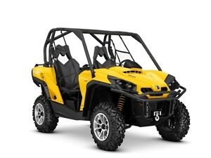 2016 Can-Am Commander XT 800R