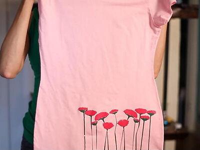 Diy iron image transfer for custom t shirts ebay for Custom t shirt transfers