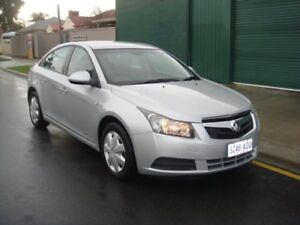 2009 Holden Cruze JG CD Silver 6 Speed Sports Automatic Sedan Broadview Port Adelaide Area Preview