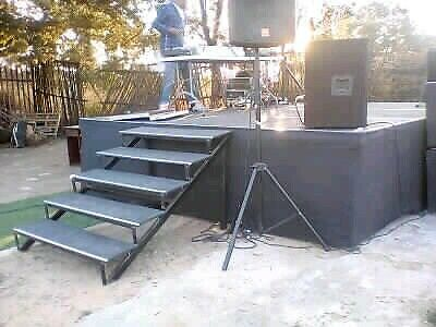 Stage for hire in joburg from R350