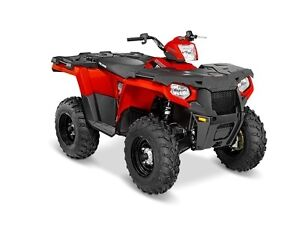2016 Polaris Sportsman 570 EPS Indy Red