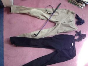 2 pairs of high quality horse riding pants