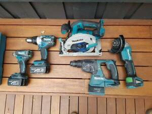 makita 5 piece kit Ringwood North Maroondah Area Preview