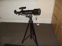 TASCO TELESCOPE WITH ATTACHMENTS IN EXCELLENT CONDITION