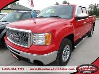 2010 GMC Sierra WELL EQUIPPED SLE MODEL 6 PASSENGER 4X4.. EXT-CA