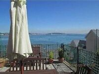 Fishermans Cottage with outstanding sea views over Mumbles Head