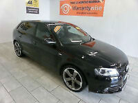 2011 Audi A3 2.0TDI 140PS Sportback Black Edition ***BUY FOR ONLY £48 PER WEEK**