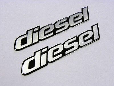 2 CHEVROLET SILVERADO 2500 3500 DIESEL EMBLEMS BADGES