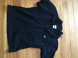Polo lacoste noir small homme