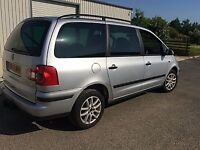 VW Sharan 2005 Spares or Repairs MOT until March 2019