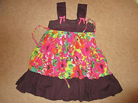 Lovely Colourful Summer Dress - Very Good Condition - 6/7 Years Old