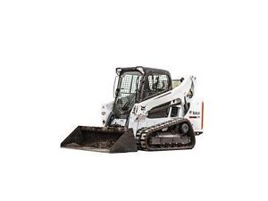 Bobcat T750 track loader skid steer and Mini Excavator