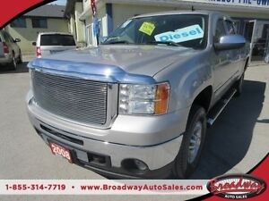 2008 GMC Sierra 2500 HD DURAMAX DIESEL LOADED SLT MODEL 5 PASSEN