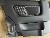 Leather Rear Quarter Panel Cards, Vauxhall Astra G/MK4 (98-05) 3 Door Coupe/convertible
