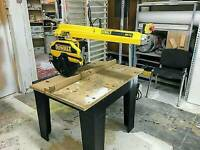 DEWALT DW728 INDUSTRIAL RADIAL ARM SAW 3 PHASE