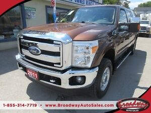 2011 Ford F-250 3/4 TON WORK READY XLT MODEL 6 PASSENGER 6.2L -