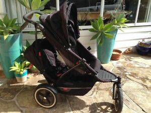 Phil and Teds Explorer Pram with Double Kit and Extra Accessories Rosebud Mornington Peninsula Preview