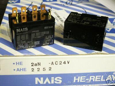 Nais 24 Volt Coil Control Relay P He2an Nib